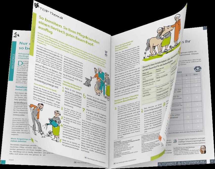 demenz: Pflege und Betreuung - Einblick in die Ausgabe