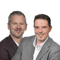 Jochen Gust und Swen Staack